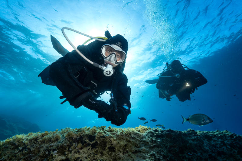 FINDING A DIVE INSTRUCTOR